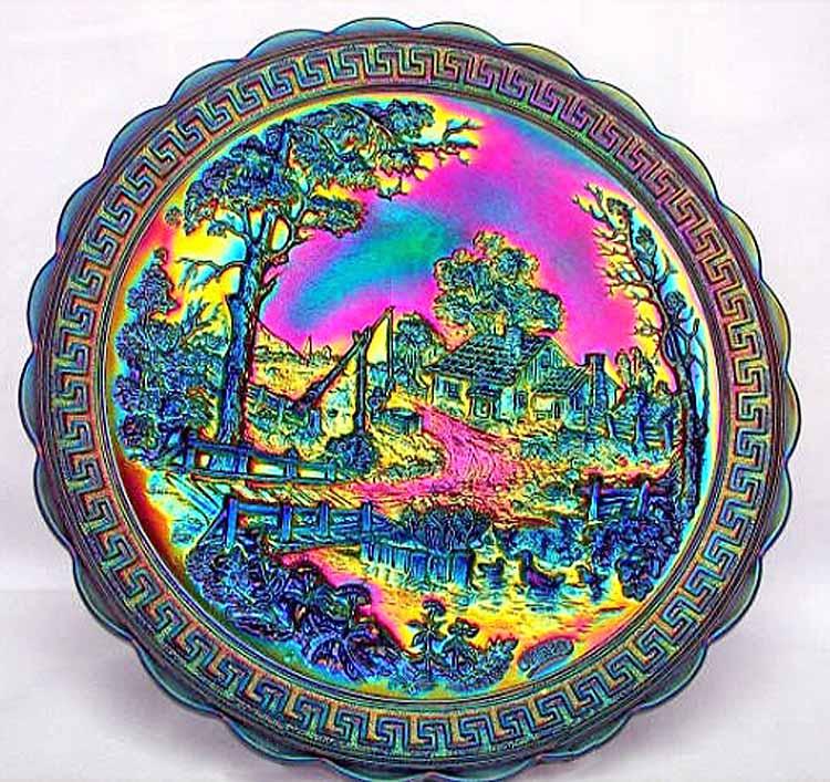 Homestead chop plate, nuart, purple